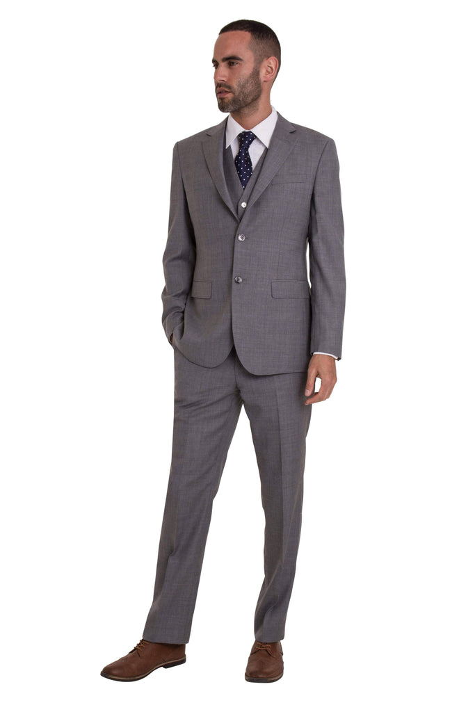 Grey Pinstripe Empire Elite 2 Piece