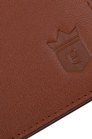 Real Leather Tan Wallet