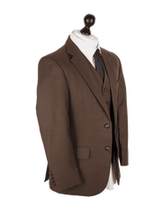 Regal Brown Worsted Wool Jacket
