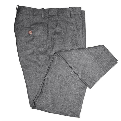 Classic Grey Barleycorn Tweed Trousers