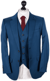 Royal Blue Worsted Wool Jacket