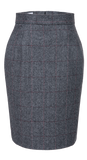 Traditional Grey Estate Herringbone Tweed 2 Piece Womens