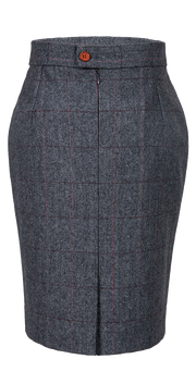 Traditional Grey Estate Herringbone Tweed 3 Piece Womens