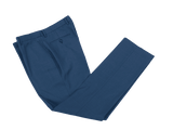 Royal Blue Worsted Wool Trousers