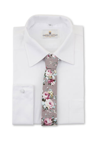 Luxury White Twill Shirt - Double Cuff