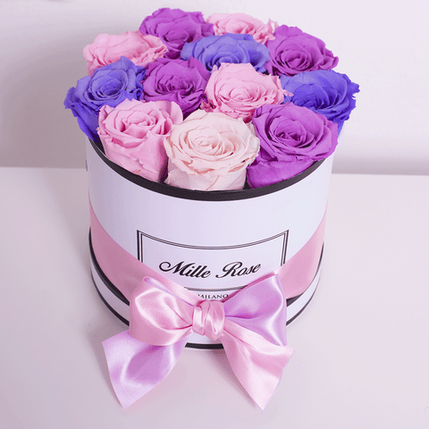 Mille Rose - Senza Tempo - Small Box - Rose Mix - Scatola Bianca