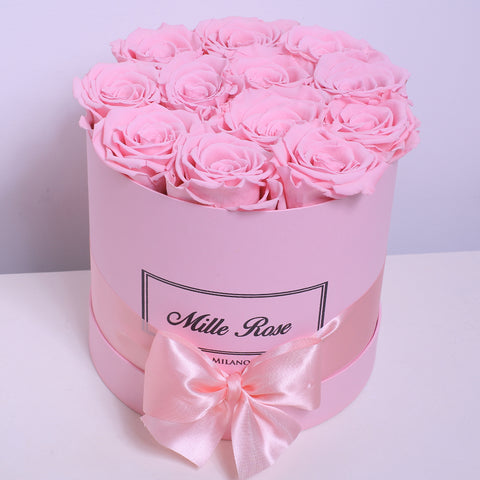 Mille Rose Collection - Senza Tempo - Small Box - Rose Rosa - Scatola Rosa