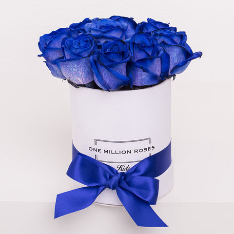 Luxury Collection - Mini Box - Rose Blu - Scatola Bianca