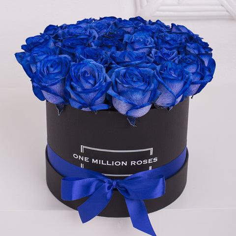 Luxury Collection - Small Box - Rose Blu - Scatola Nera