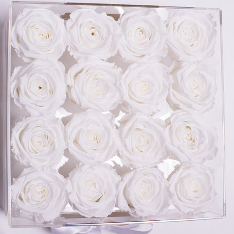 Senza Tempo - Rose Bianche - Crystal Box