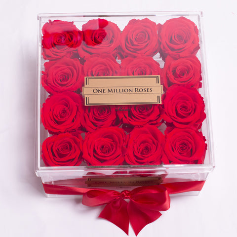 Senza Tempo - Rose Rosse - Crystal Box