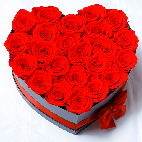 Senza Tempo - Mille Rose - Love Box - Rose Rosse - Scatola Nera