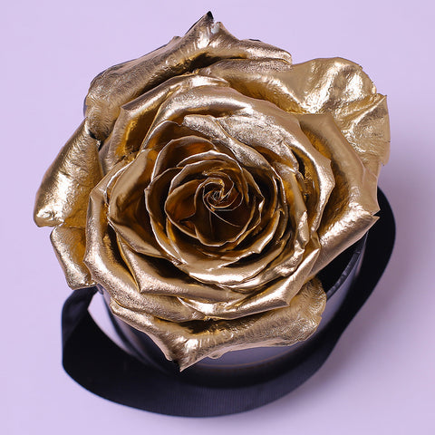 Classic Collection - Mini Box - Rosa Oro - Scatola Bianca