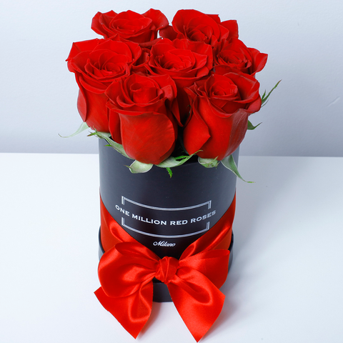 Classic Collection - Mini Box - Rose Rosse - Scatola Nera