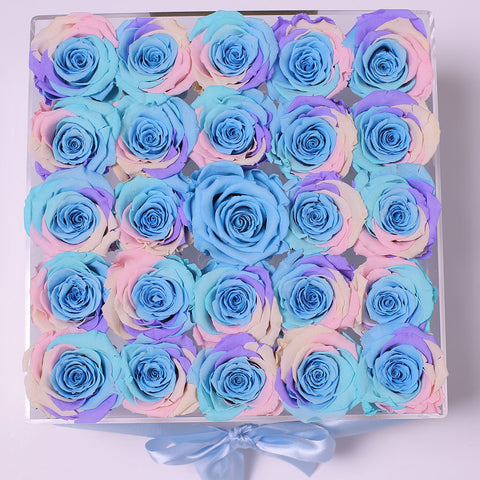 Senza Tempo - Rose Rainbow - Crystal Box