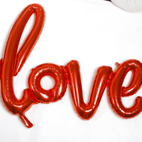 "Decorazione con Palloncino ""Love"""