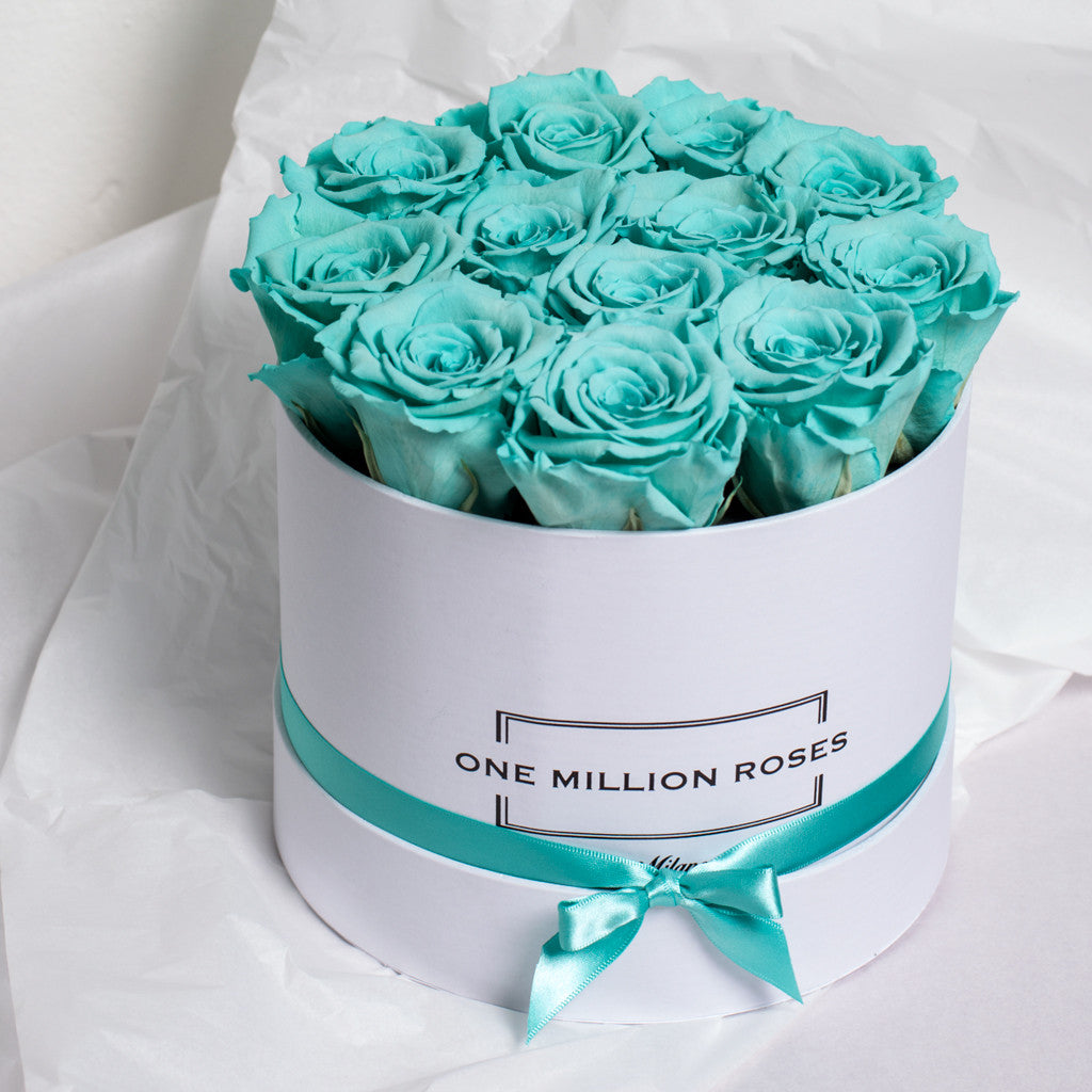 Senza Tempo - Small Box - Rose Tiffany - Scatola Bianca