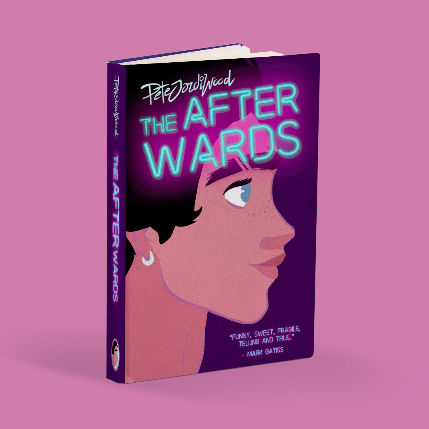 The After Wards by Pete Jordi Wood is available from Bodega Bijou Illustration Gallery, Cornwall