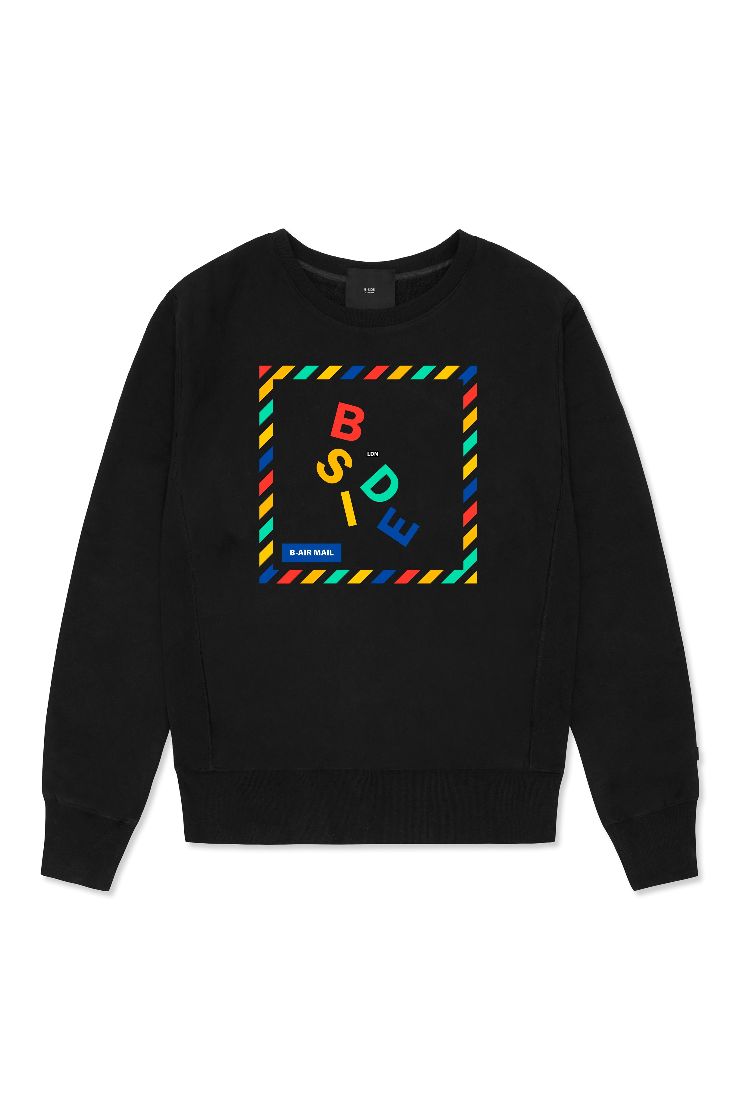 B-MAIL CREWNECK SWEAT | B-sidebywale