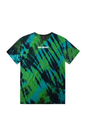 SIGN LANGUAGE TYE DYE T-SHIRT | B-sidebywale