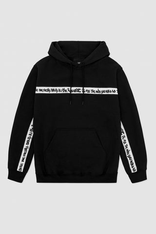 men's oversized b-side by wale hoodie | front