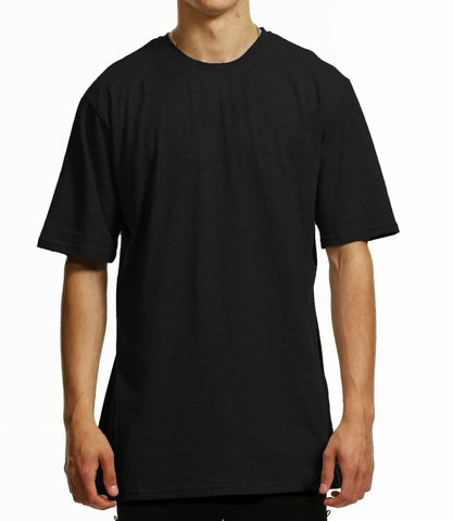 Women's  oversized black  T -shirt