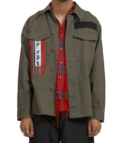 army jacket front