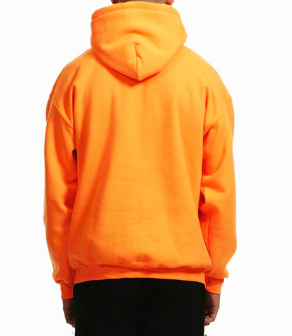 B-SIDE TEXT HOODIE / ORANGE