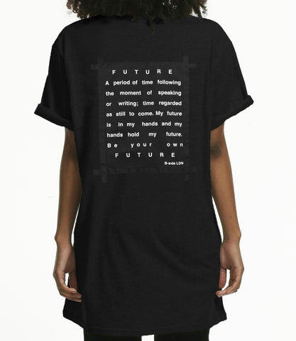 FUTURE OVERSIZED T-SHIRT / BLACK