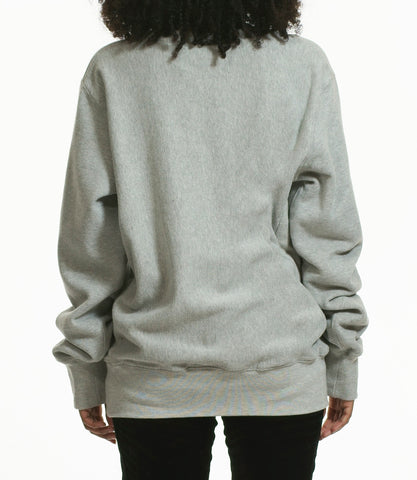 "grey "" can i live"" sweatshirt"