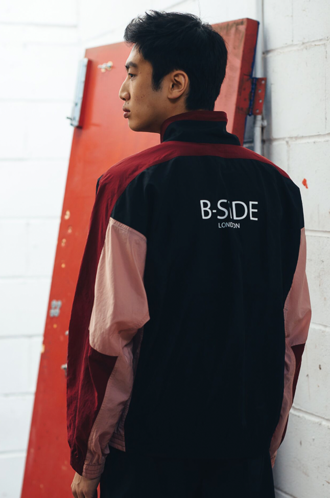 MIDNIGHT RUNNER SHELL SUIT - JACKET | B-sidebywale
