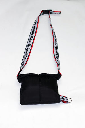 GRAFFITI TRIM PUFFY BAG | B-sidebywale