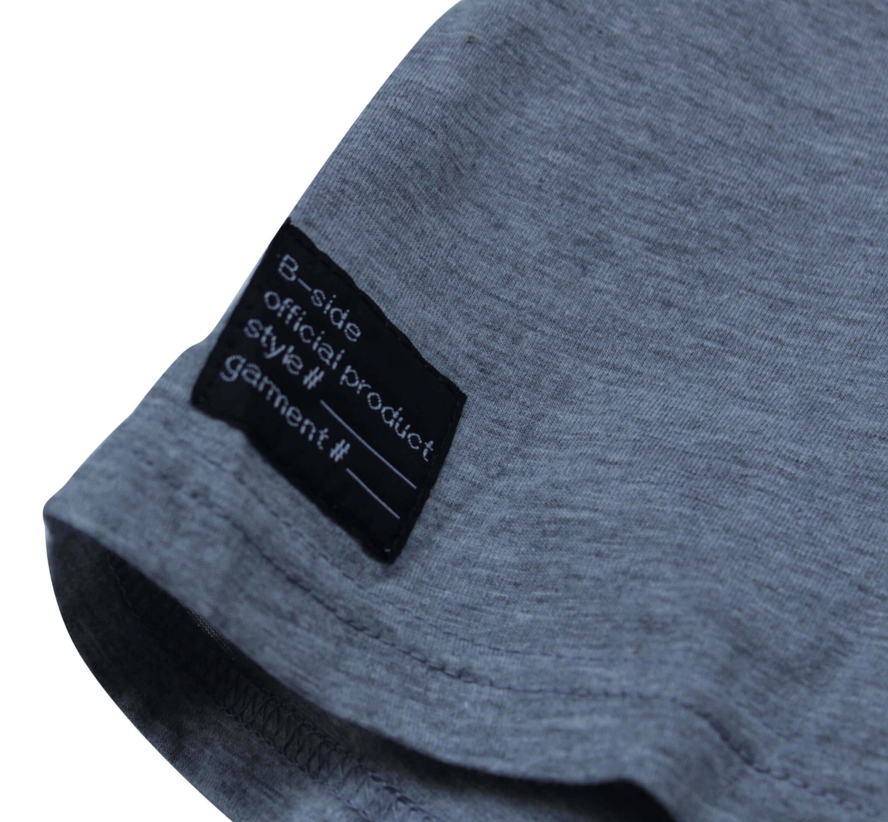 STAPLE LOGO CROPPED T/ GRAY | B-sidebywale