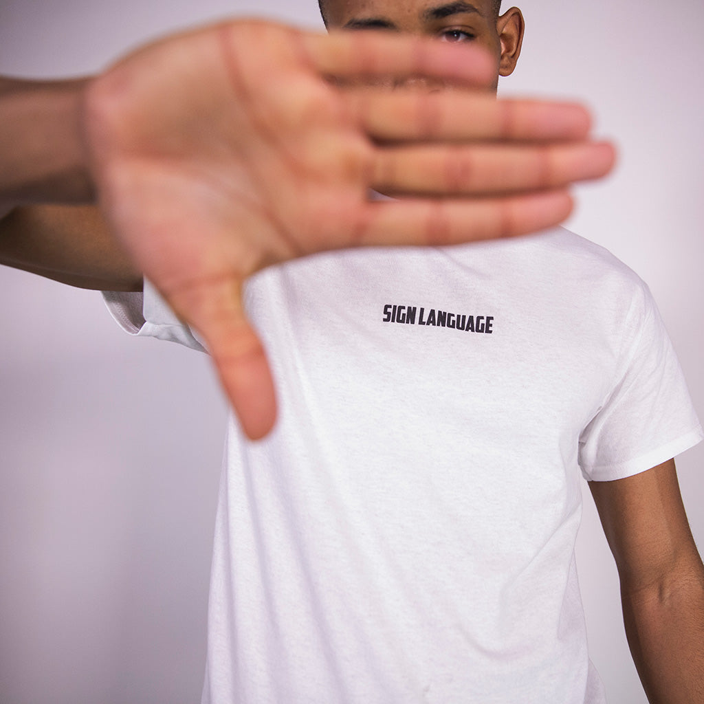 SIGN LANGUAGE T-SHIRT | B-sidebywale