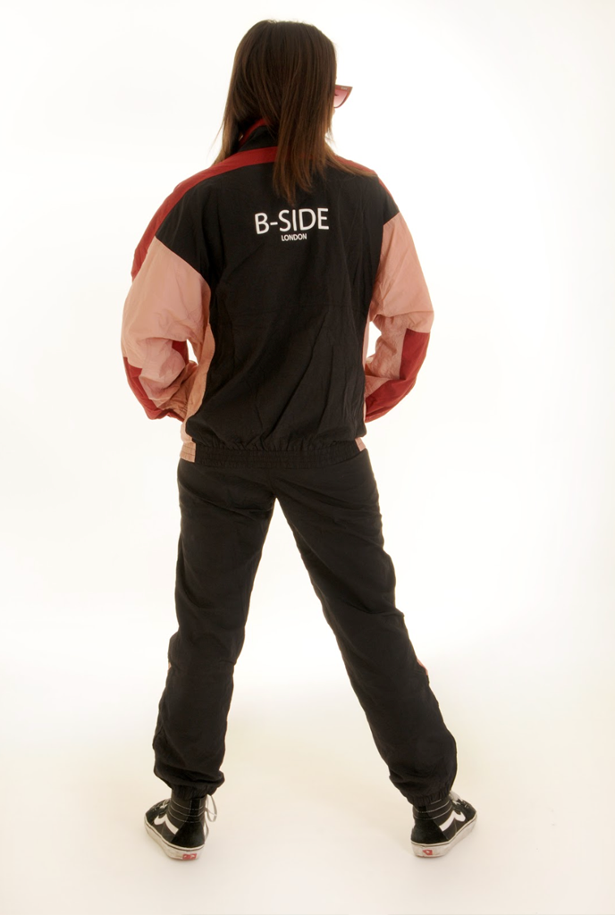 MIDNIGHT RUNNER SHELL SUIT - BOTTOMS | B-sidebywale