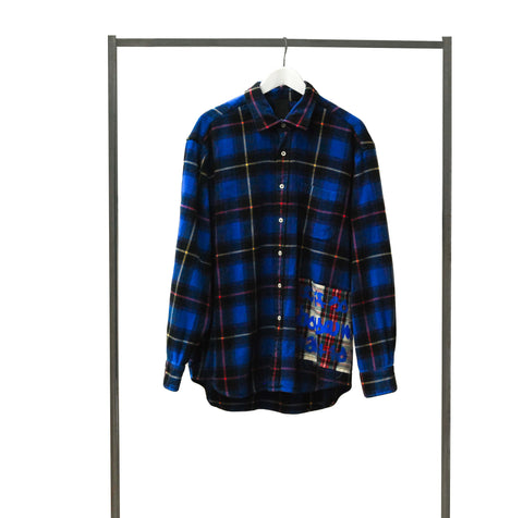 checked shirt vintage by B-side By Wale | front