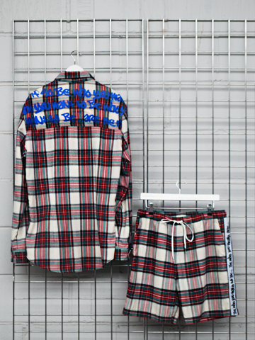 Men's Checked shorts - b-sidebywale