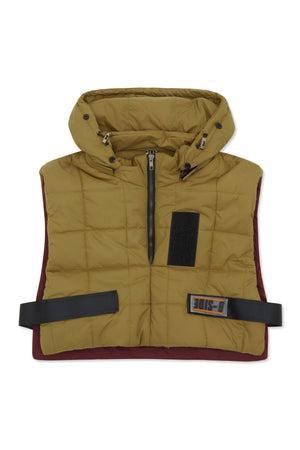 WOMEN'S CROPPED QUILTED VEST