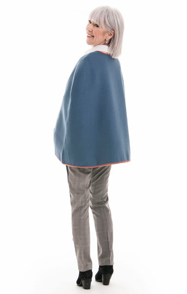 Blanket Stitch Cape