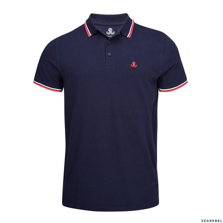 Searebel Cooper (French Navy),  Polo Shirt Herren - searebel