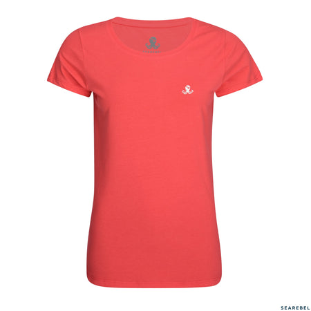 Searebel Coral (Hibiscus),  T-Shirt Damen - searebel