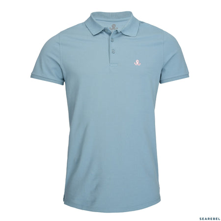 Searebel Powder Monkey (Citadele Blue),  Polo Shirt Herren - searebel
