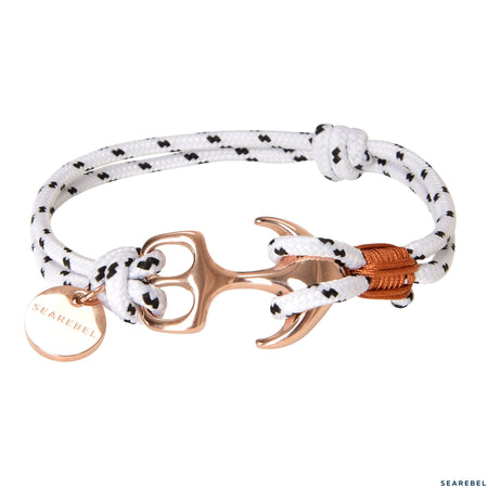 Searebel Shark (Rose Gold White Brown),  Armband Damen - searebel