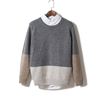 Japanese Retro Long-Sleeved Jumper