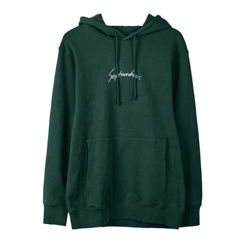 September Embroidery Hoodie