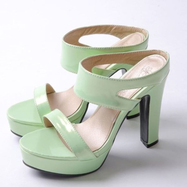 Summer Peep-toe Heels - Oeuvre by Qamrosh