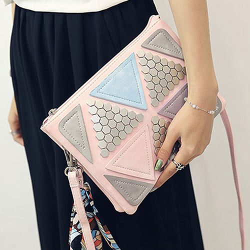 Sequined Patchwork Bag - Oeuvre by Qamrosh