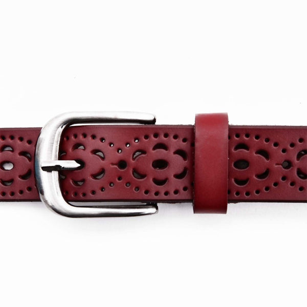 Wide Leather Belt - Oeuvre by Qamrosh