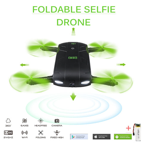 Mini Fold-able Selfie Drone - Oeuvre by Qamrosh