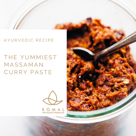 Holistic Recipes - Massaman Curry Paste